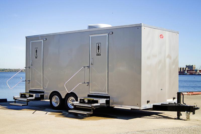 Bathroom Trailer Rental frederick county, va restroom trailer rental - johnny blue